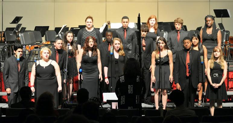 AD (Advanced) Chorus at the Spring Concert