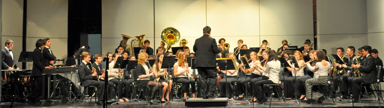Nyack High School Band at the Spring Concert