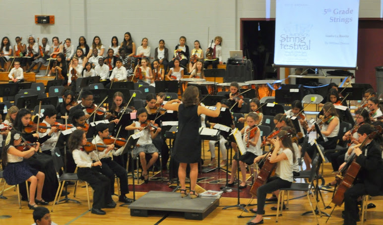 5th Grade performing at the 10th Annual Jimerson String Festival in May