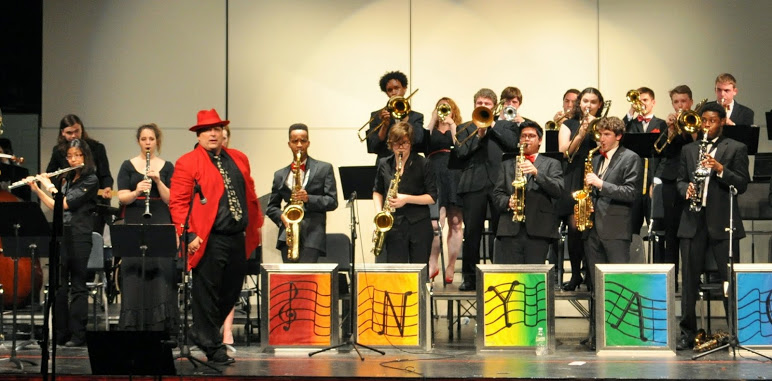 Nyack High School Jazz Band at the Spring Concert