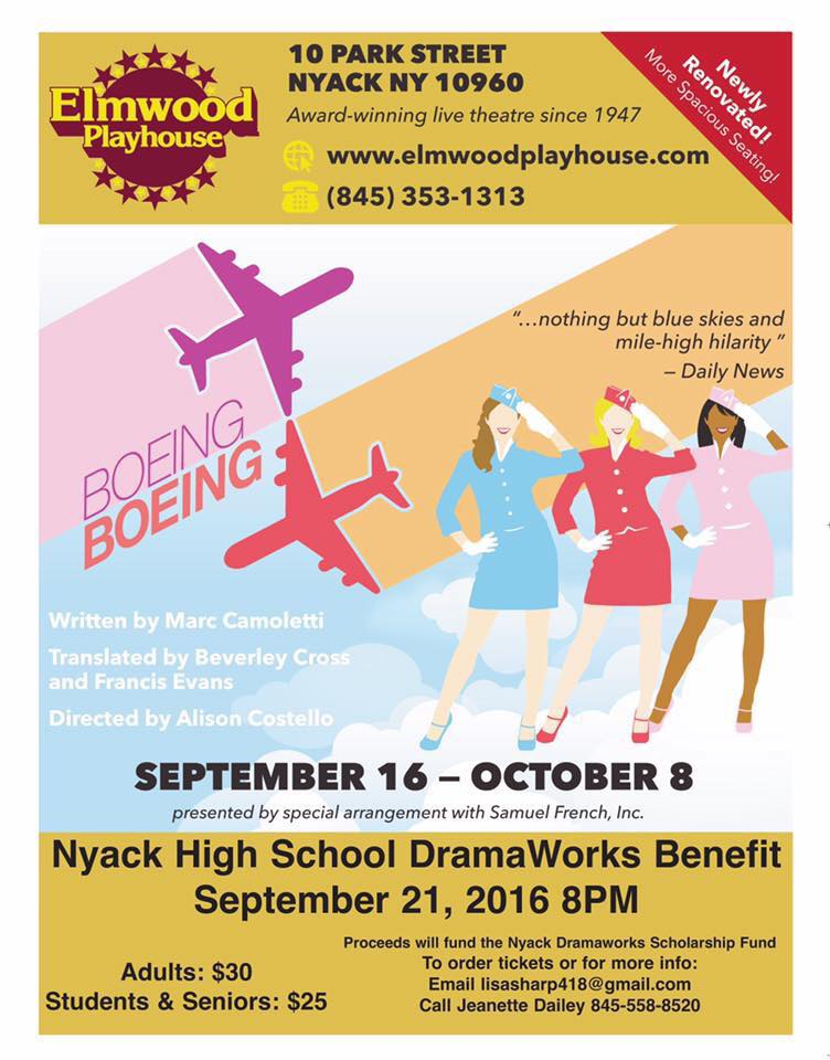 Join Us For A Fun Night At The Elmwood Playhouse