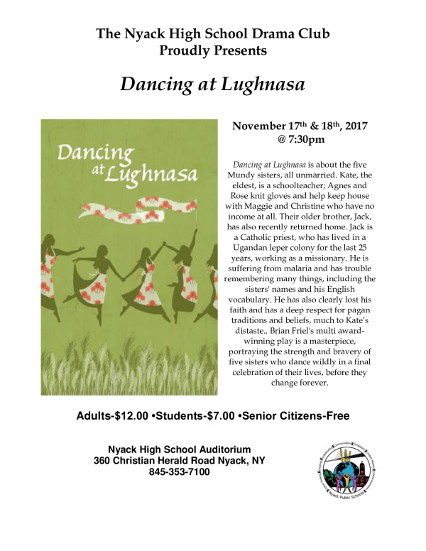 the plot of dancing at lughnasa Dancing at lughnasa summary dancing at lughnasa, by brian friel, one of ireland's most important playwrights, was first performed at the abby theater, in dublin, in 1990, and garnered the 1991 olivier award.